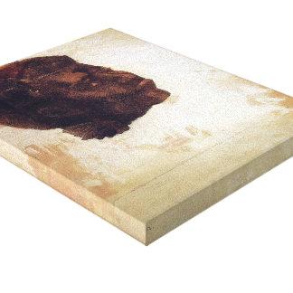 Odilon Redon- Satan Stretched Canvas Print