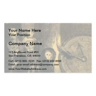 Odilon Redon- The Mask of the Red Death Double-Sided Standard Business Cards (Pack Of 100)