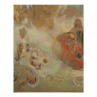 Odilon Redon - Underwater Vision Poster
