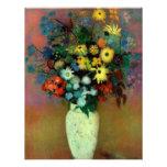 Odilon Redon's Vase with Flowers (1914) Custom Invites