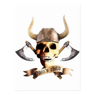 Odin Axe Postcard