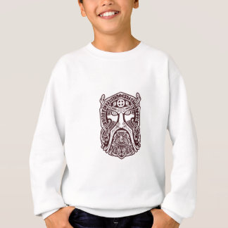 Odin face sweatshirt