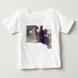Odin in front of a Völva Baby T-Shirt