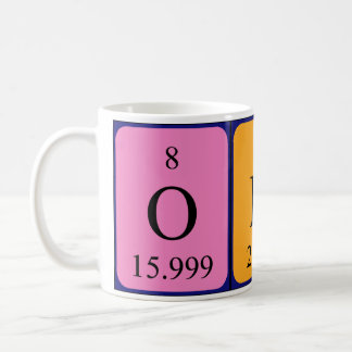 Odin periodic table name mug