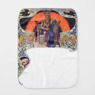 Odin the allfather burp cloth