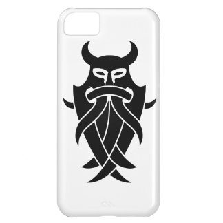 Odin's Mask Tribal (black) iPhone 5C Case