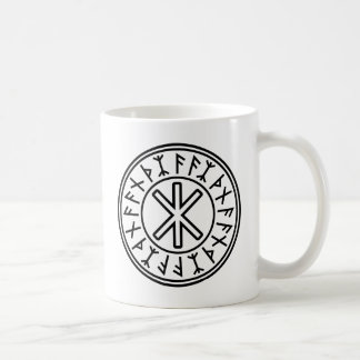 Odin's Protection No.2 (black) Coffee Mug