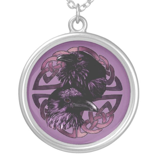 Odin's Ravens Necklace
