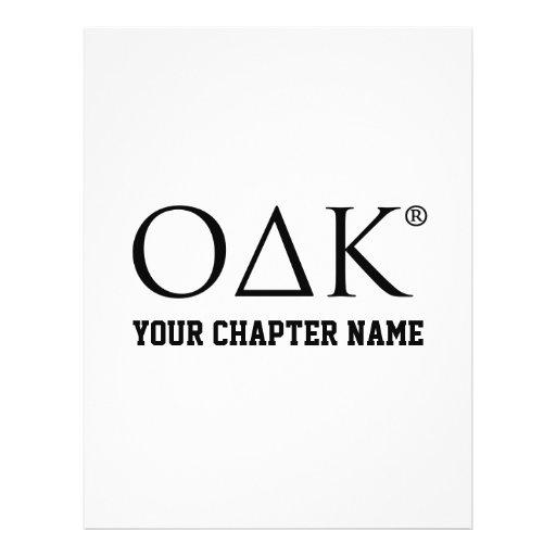 ODK Letters Personalized Flyer