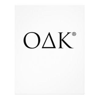 ODK Letters Flyers