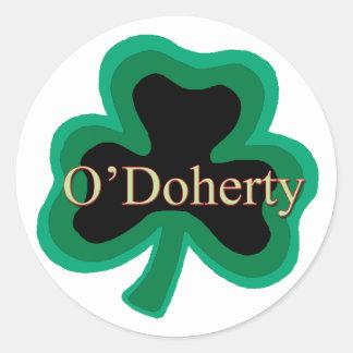 O'Doherty Family Round Sticker