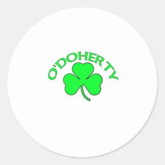 O'Doherty Round Sticker