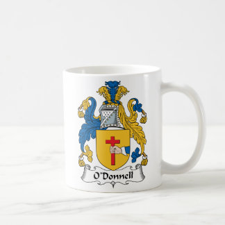 O'Donnell Family Crest Coffee Mug