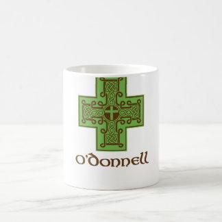 O'Donnell Logo Green and Brown Coffee Mug