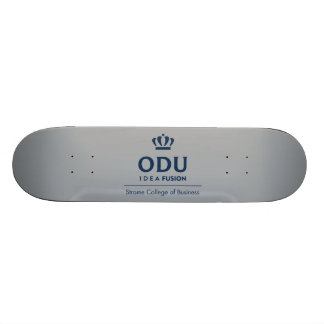 ODU Stacked Logo - Blue 20 Cm Skateboard Deck