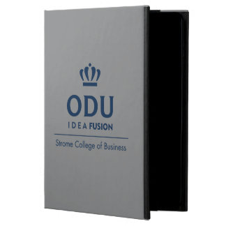 ODU Stacked Logo - Blue iPad Air Cases