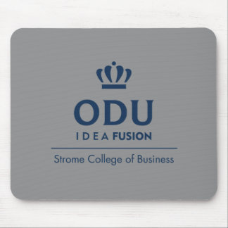 ODU Stacked Logo - Blue Mouse Pad