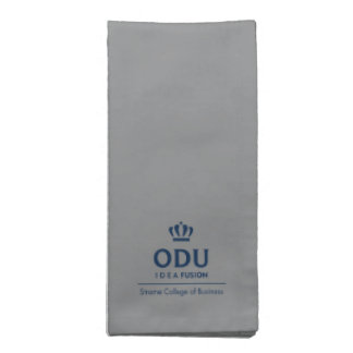 ODU Stacked Logo - Blue Napkin