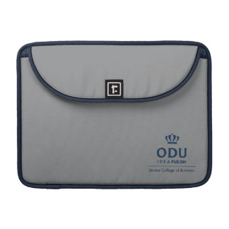 ODU Stacked Logo - Blue Sleeve For MacBook Pro