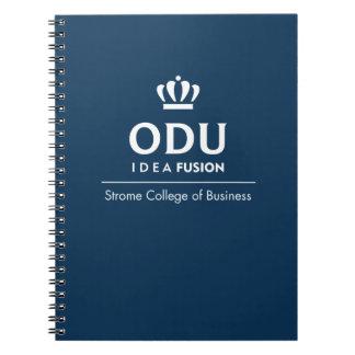 ODU Stacked Logo Notebook