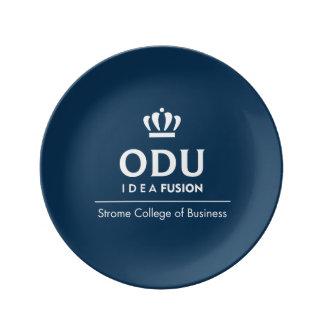 ODU Stacked Logo Porcelain Plates