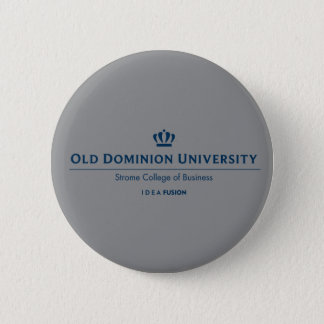 ODU Strome College of Business - Blue 6 Cm Round Badge