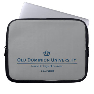 ODU Strome College of Business - Blue Laptop Computer Sleeve