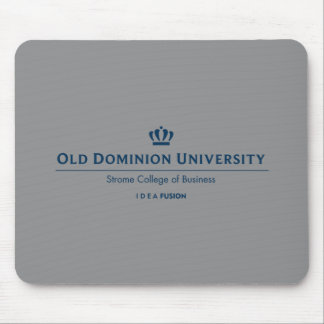 ODU Strome College of Business - Blue Mouse Mat