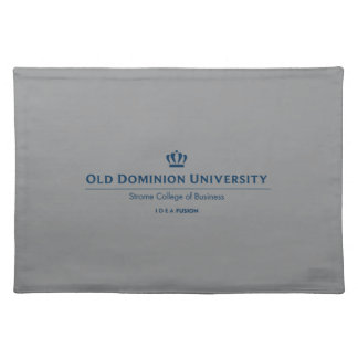 ODU Strome College of Business - Blue Placemat