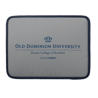 ODU Strome College of Business - Blue Sleeves For MacBooks