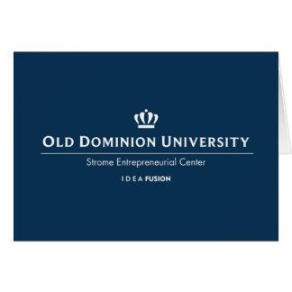 ODU Strome College of Business Card