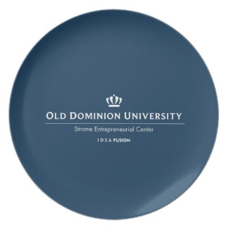 ODU Strome College of Business Dinner Plate