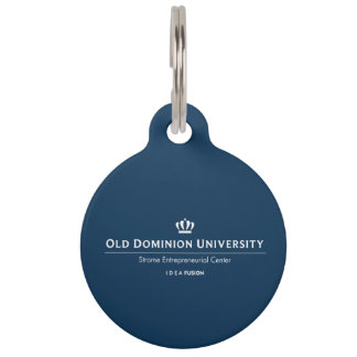 ODU Strome College of Business Pet Tag