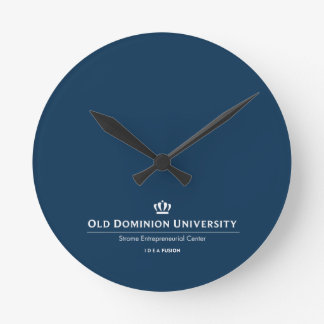 ODU Strome College of Business Round Clock