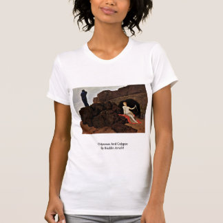 Odysseus And Calypso By Böcklin Arnold T-shirt
