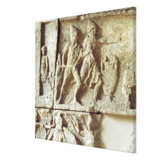 Odysseus discovering the suitors of his wife gallery wrap canvas