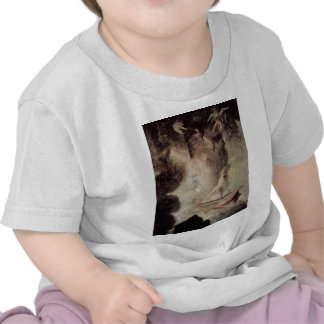 Odysseus In Front Of Scylla And Charybdis Tshirts