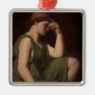 Odysseus, study for the Apotheosis of Homer Christmas Ornament