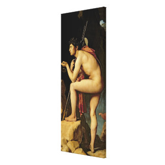 Oedipus and the Sphinx, 1808 Stretched Canvas Prints