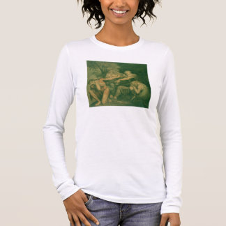 """Oedipus cursing his son Polynices - """"Go to Ruin, S Long Sleeve T-Shirt"""