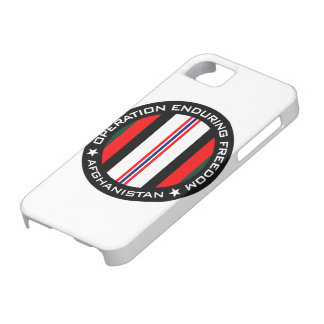 OEF Afghanistan iPhone 5 Case