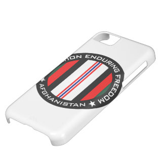 OEF Afghanistan iPhone 5C Cover
