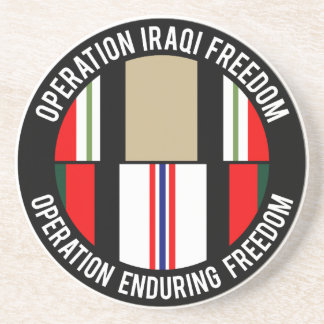 OEF - OIF BEVERAGE COASTERS