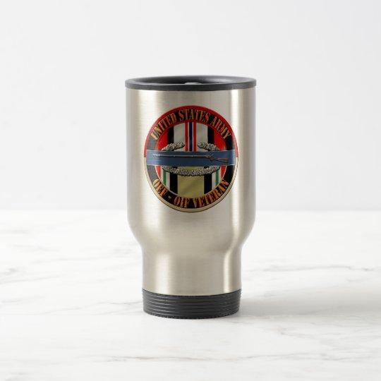 OEF OIF Veteran CIB Infantry Travel Mug