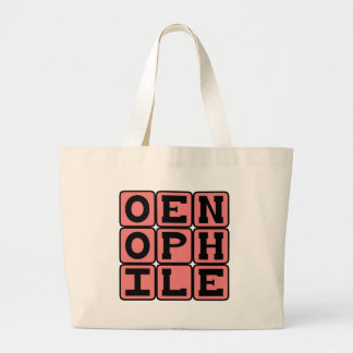 Oenephile Wine Lover Tote Bag