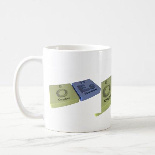 Oes as O Oxygen and Es Einsteinium Mug