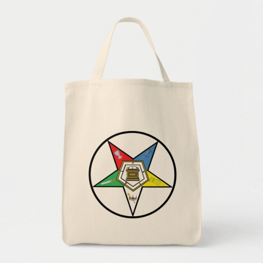 OES CIRCLE Shopping Tote Bag