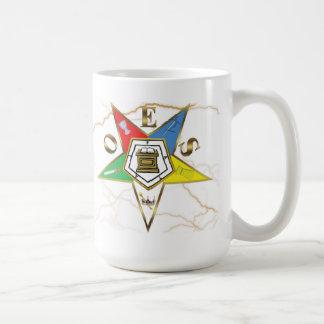 OES Faux Marble Basic White Mug