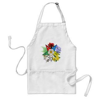 OES Floral Emblem Apron
