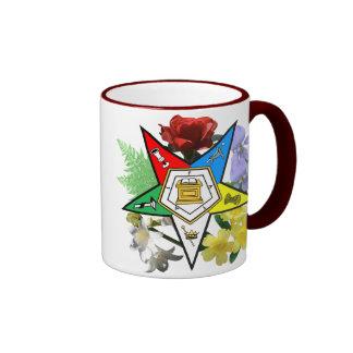 OES floral Emblem Mug